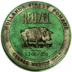 Reuzel Grease Medium Hold (Green) 1.3 oz