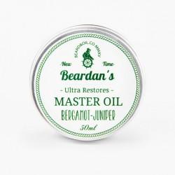 Beardan's Master Oil Bergamot & Juniper