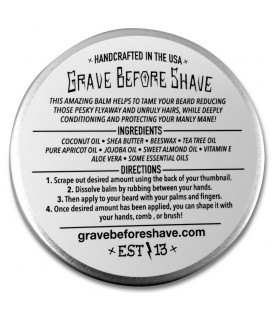 "Fisticuffs Grave Before Shave Beard Balm ""Pine"""