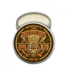 "Fisticuffs Grave Before Shave Beard Balm ""Head Hunter"""
