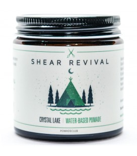 Shear Revival Crystal Lake Water Based Pomade