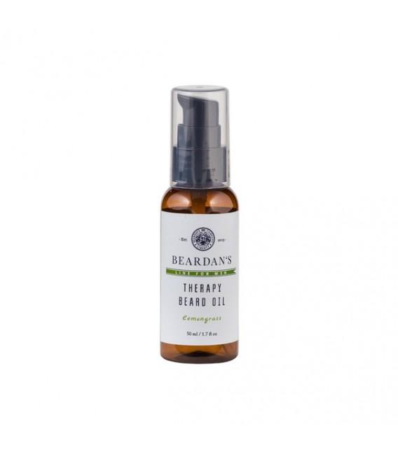 Beardan's Therapy Beard Oil Lemongrass