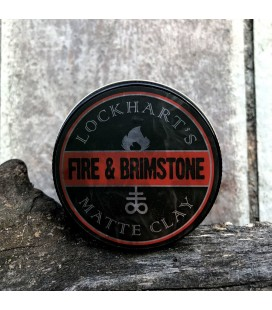 Lockhart's FIRE & BRIMSTONE Matte Clay