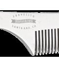 SuaVecito Deluxe Metal Side Part Comb