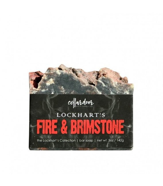 Lockhart Fire & Brimstone Bar Soap